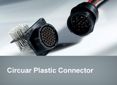 Circuar Plastic Connector